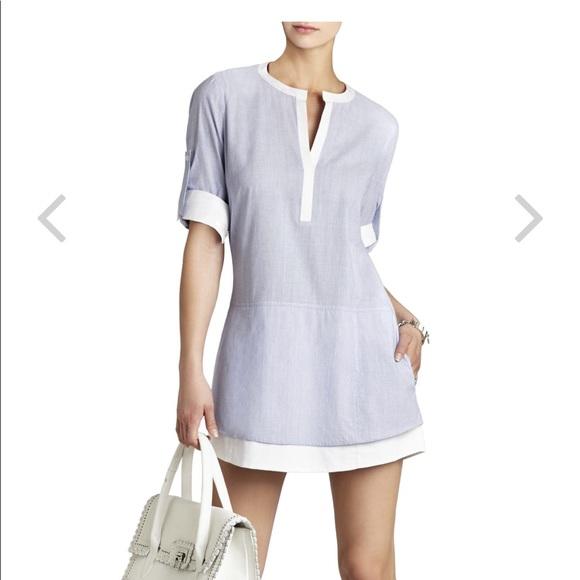 69ed3c6f2b71 BCBGMaxAzria Dresses   Skirts - BCBG Maxazria Kelci Long-Sleeve Shirt Dress